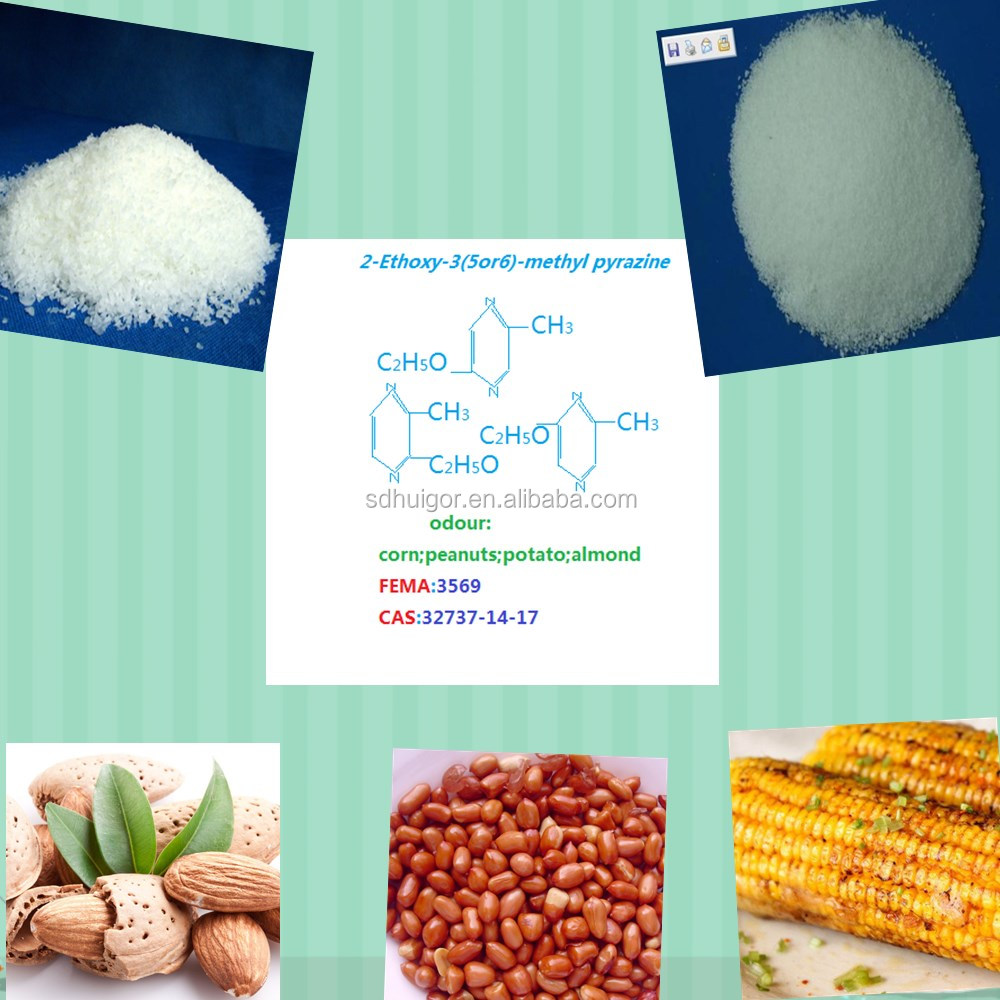 food fragrance&flavor for corn beverage and candy 2-Ethoxy-3(5or6)-methyl pyrazine
