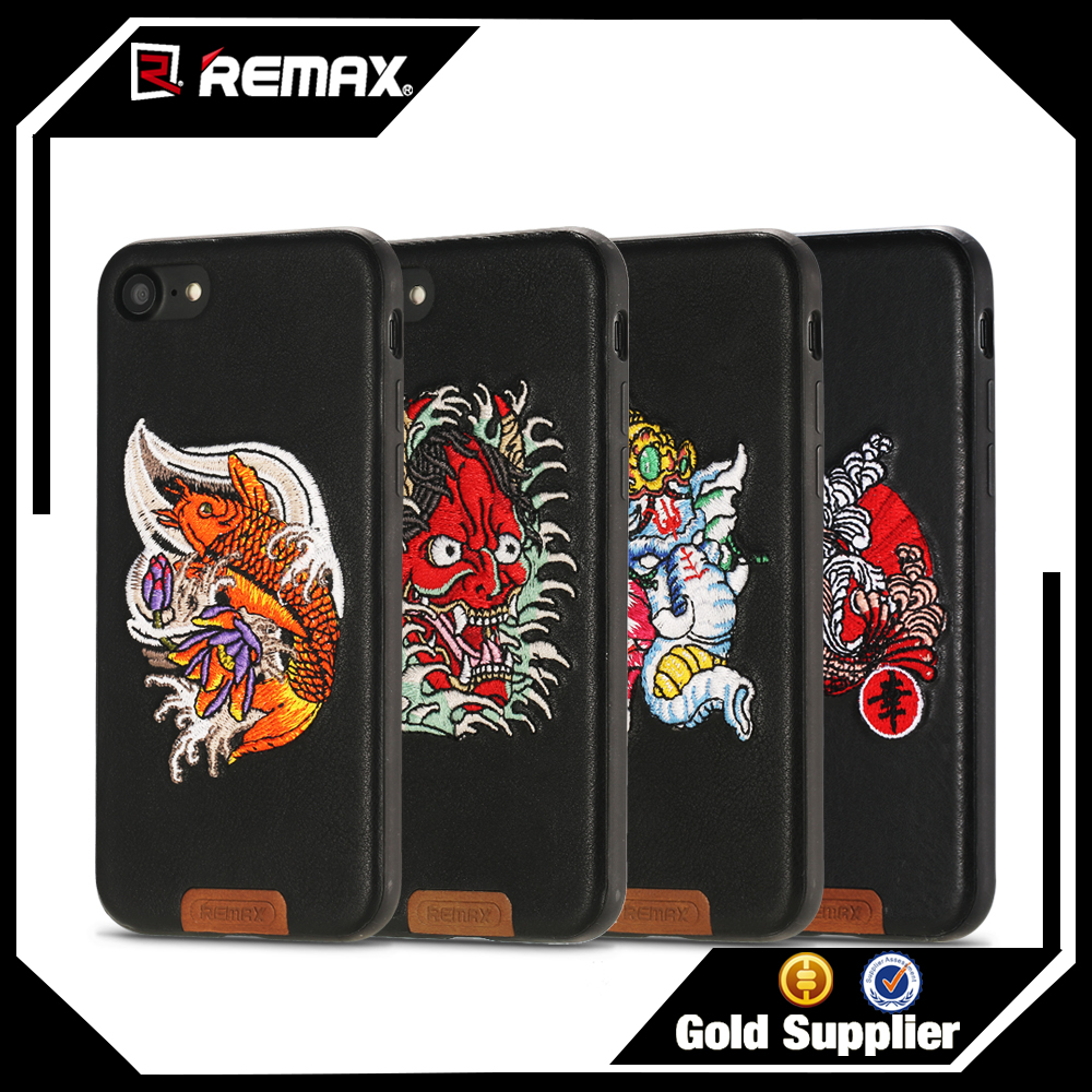 Remax Japan yokosuka embroidery technology mobile phone case for iphone