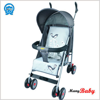 new model high-end baby stroller with big wheels