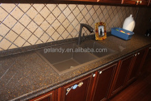 Classical Undermount Composite Granite Quartz Double Kitchen Sink (HGY006)