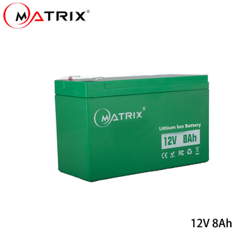 12V 8Ah lithium ion 18650 Sprayer Battery Replacement