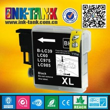 Compaitble brother lc39 lc60 lc975 lc985 black inkjet cartridges for DCP-J125/DCP-J315W/DCP-J515W