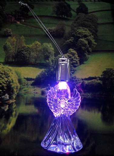 hot sale acrylic led product romantic theme angel for valentines day gifts