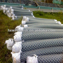 Galvanized /pvc coated used chain link fence for sale (china factory) / PVC coat chain link fenc with barb wire