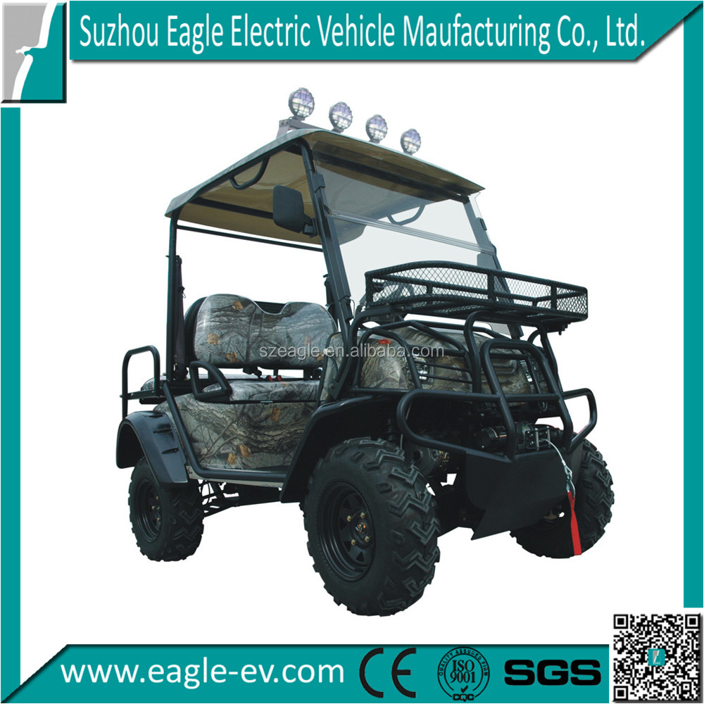4 wheel drive electric golf cart as hunting buggy for sale