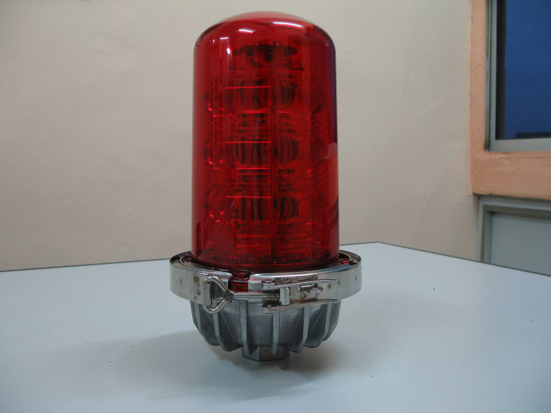 Single Low Intensity L-810 Red LED Obstruction Light