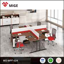 Modern 4 Seaters Office Partition/ Office Furniture/ Office Low Partition
