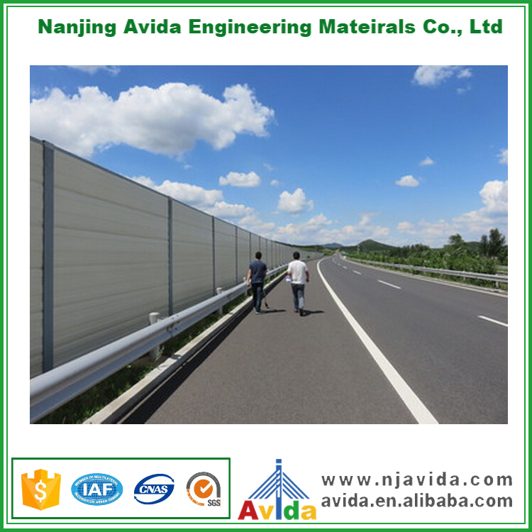 Highway Guardrail Noise Protection Wall