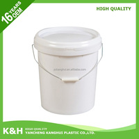Brand new cheap plastic bucket food grade 5 gallon plastic buckets clear plastic buckets with lids with great price