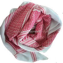 popular plo scarf 42' 120s/2 shemagh fashion red shemagh for sale