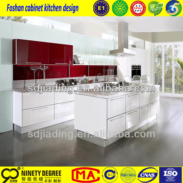 2014 Design furniture foshan kitchen cocinas de induccion