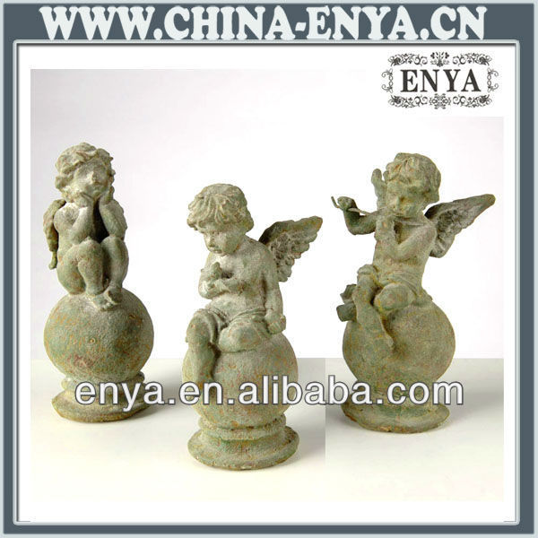 Angel Statues/ Figurines, Antique Metal Crafts for home decor