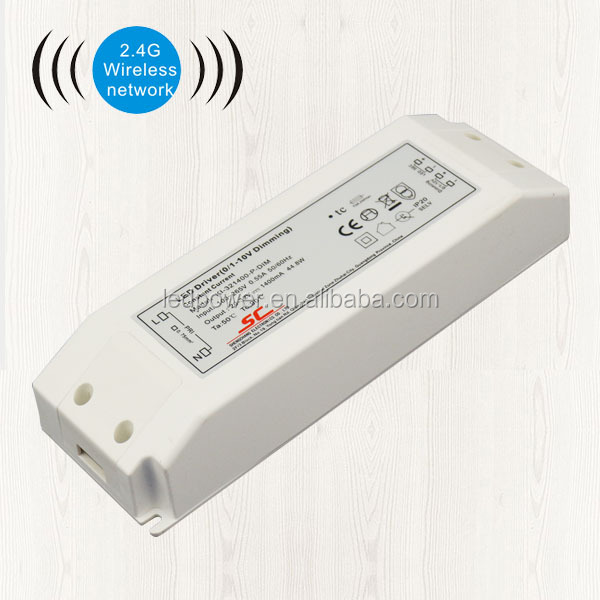ZigBee constant current dimmable led driver for 36W 1400mA output
