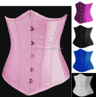 Instyles New Charming Lady Waist Cincher Underbust Wedding Boned Basques Corset Bustier