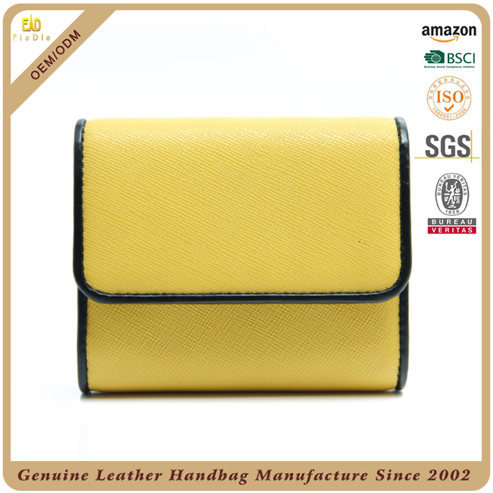 CW1027-002-Hot sell fashion design genuine leather bag handbags leather men wallets leather card holder