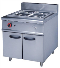 Gas Bain Marie with Cabinet / Bain Marie Cooking Equipment