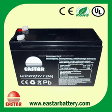 VRLA Sealed Lead Acid Battery 12V 7.2Ah LED Light Battery