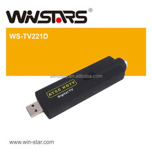 HOT USB 2.0 ATSC Digital TV tuner card , mini usb 2.0 HDTV card,USB ATSC TV Stick