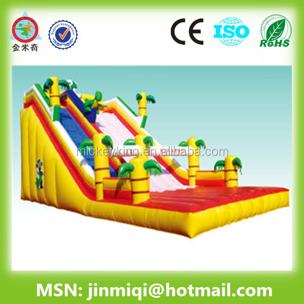 JMQ-P129A giant inflatable kids playground,inflatable bounce-outdoor playground equipment