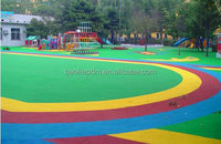 Manufactory of colored rubber granules for indoor&outdoor sports surfaces