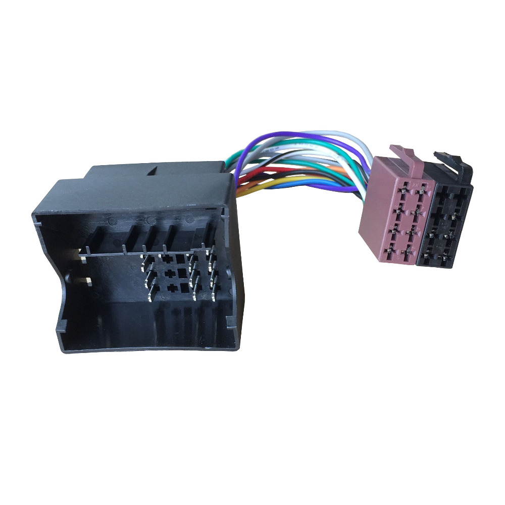 ISO Wiring Harness Radio Cable Adaptor for wholesale auto iso wire harness online buy best auto iso wire Wire Harness Assembly at fashall.co