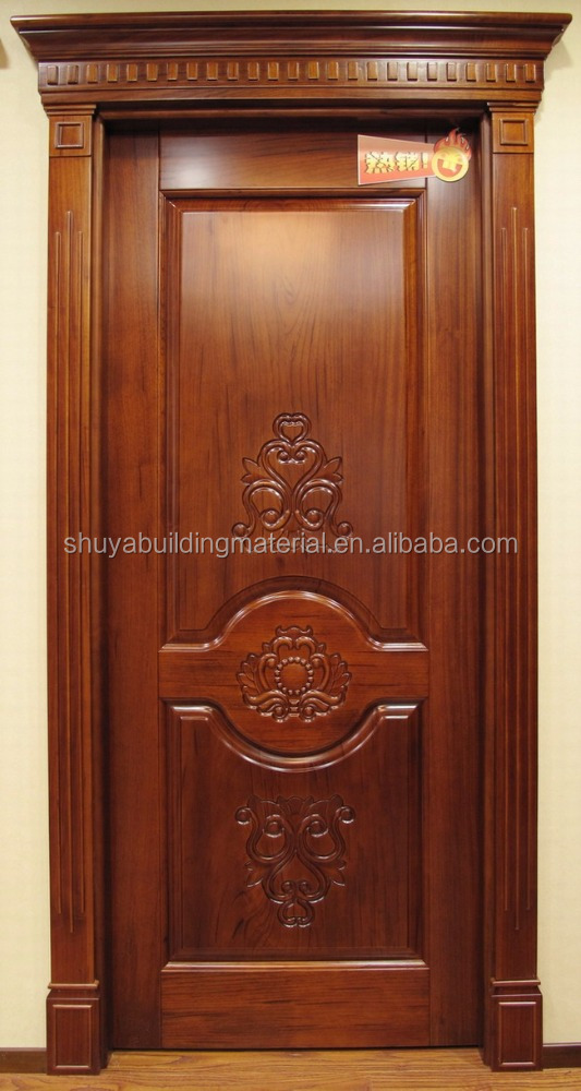 Wholesale custom China simple latest design wooden room door price