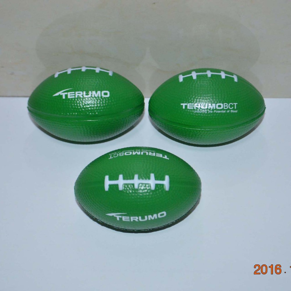 rugby stress ball pu rugby ball pu soft toy