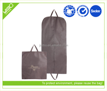 Customiozed reusable high quality non woven fashion dance competition garment bags