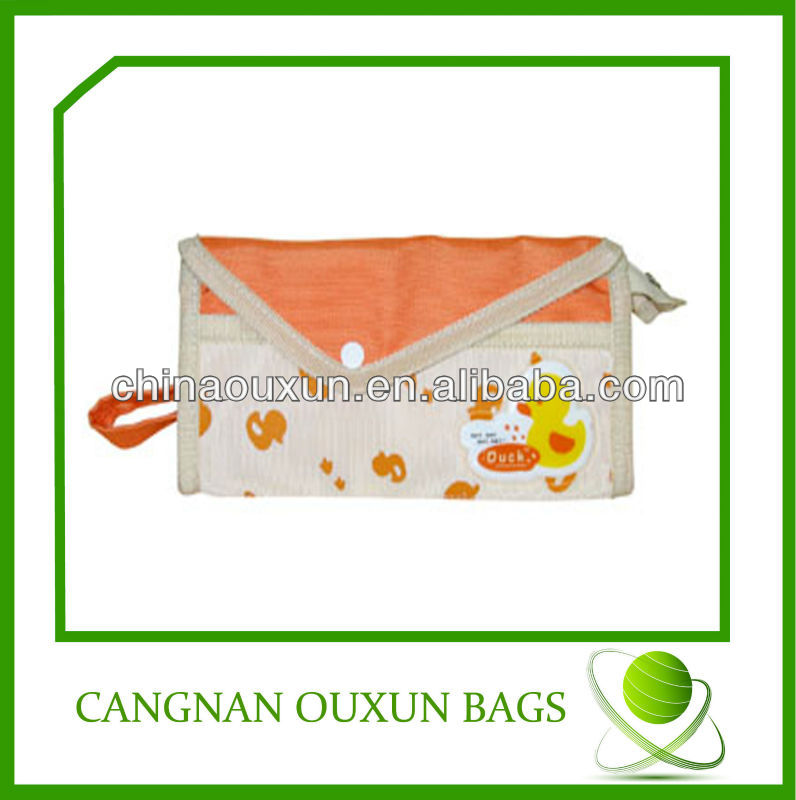 beautiful in color promotional plain pencil bag