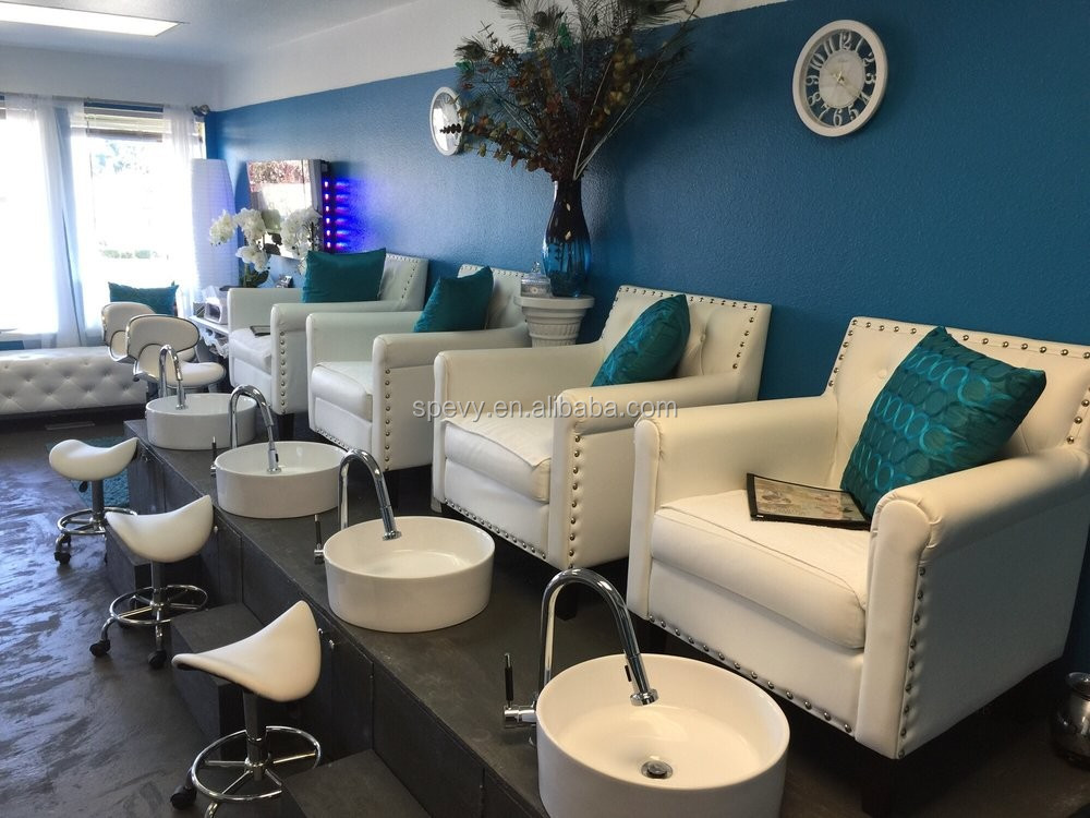 nail salon furniture custom made pedicure stations with lowest price