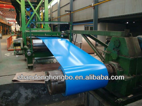 Alu-zinc coating prepainted steel coils roofing sheets