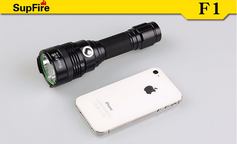 Updated powerful cheap home use rechargeable LED flashlight F1-R5