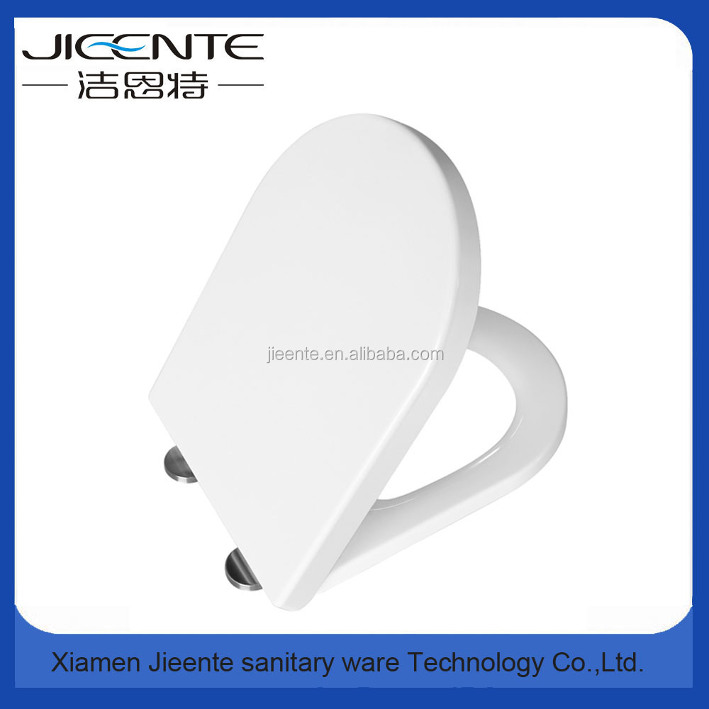 White Soft Close Urea Toilet Seat steel hinge quick release