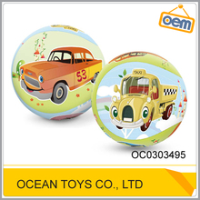 9 inch cartoon printing plastic pvc beach ball inflatable ball