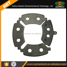 OEM Auto Disc Brake Pad Stainless Steel Back Plate