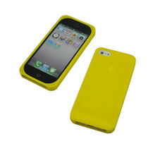 Water proof silicone bumper case for iphone5