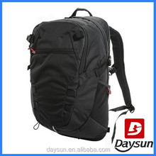 Fashion unique sport waterproof laptop backpack black