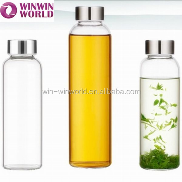 Eco Friendly Product Mother's Day Promotional Gift Reusable 750ml Glass Bottle