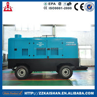 Kaishan Mining Diesel Rotary Screw Compressor Portable