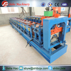 Reasonable price color steel ridge cap roof tile cold roll forming machine with PLC
