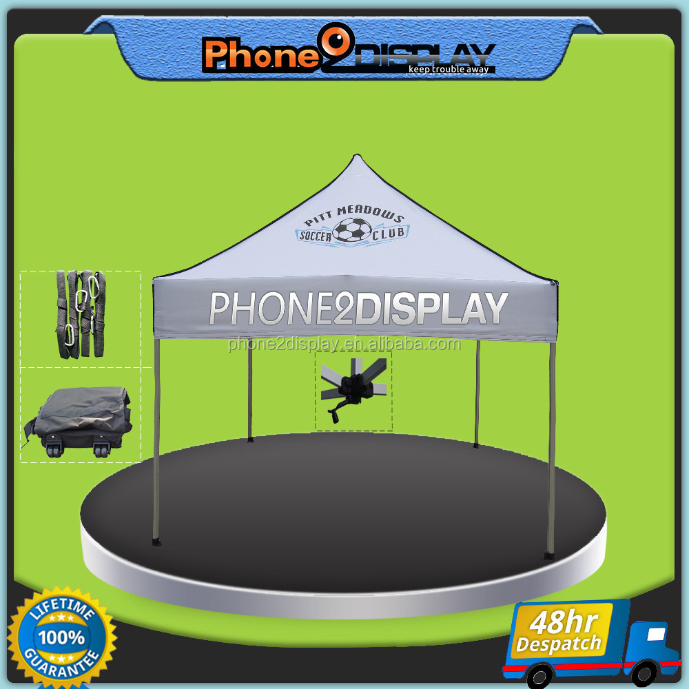 10ft promotional easy up folding Pop Up Gazebo Tent for beach outside