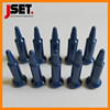 ZrO2 high strength blue zirconia ceramic insulation welding pin