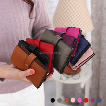 New Design PU Women Wallet,Lady Coin Purse Belt Credit Card Holder Bags
