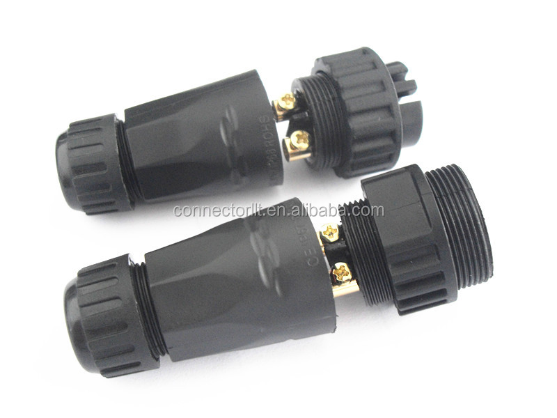 High Quality Field Assembly Screw male female cable connector