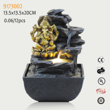 2017 Best selling resin ganesh water fountain with good quality