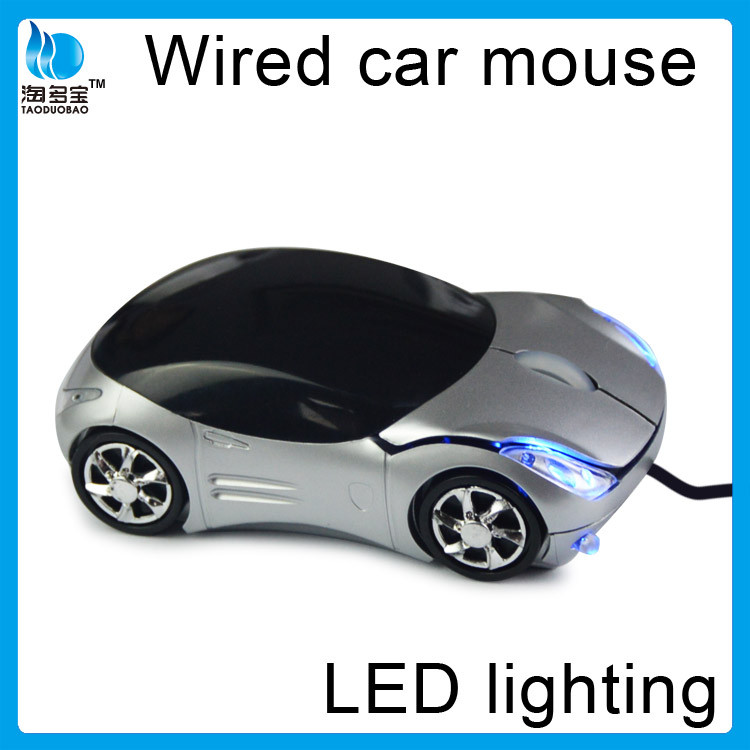 ISO factory promotional computer wired car mouse cordless