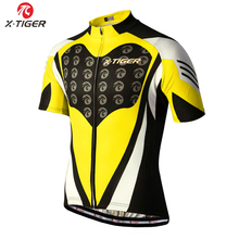 2016 Pro X-Tiger Brand Cycling Jerseys/cycling clothing custom/Short Sleeve cycling wear Bicycle <strong>Sportswear</strong>