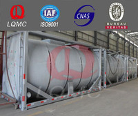 hot sale double layer tank container/diesel fuel storage tank container with low price