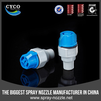 CYCO Quick Jet Spray Easy Dismantling Nozzle, Factory Plastic Water Nozzle, full Cone/Hollow Cone/Flat Fan Dismantling Nozzle