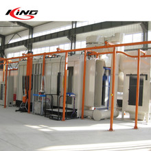automatic spray pre-treatment powder coating production line